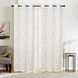 CHD Home Textiles 2-pk. Cliffside Curtain Panel Set