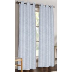 S.L. Home Fashions Candice Jacquard Window Panel Set
