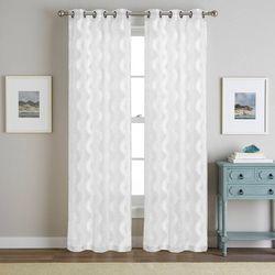 2-pk. Tyler Jacquard Curtain Panel Set