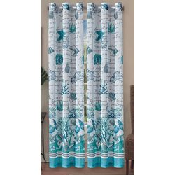 Beatrice 2-pk. Sand Salt Sea Curtain Panels