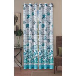 2-pc. Salt Sand & Sea Sheer Curtain Panel Set