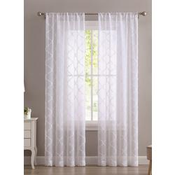 2-pc. Berwyn Embroidered Curtain Panel Set