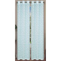 Caribbean Joe 2-pc. Belize Sheer Curtain Panel Set