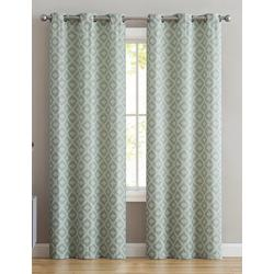 2-pc. Bella Jacquard Curtain Panel Set