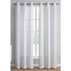 VCNY Home 2-pc. Natalie Sheer Curtain Panel Set