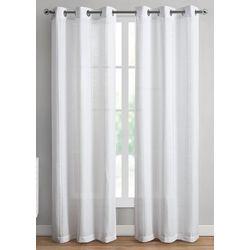 VCNY Home 2-pc. Carissa Sheer Curtain Panel Set