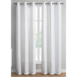 2-pc. Carissa Sheer Curtain Panel Set