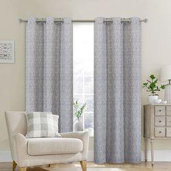 Dainty Home 2-pc. Moderna Curtain Panel Set