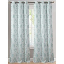 Dainty Home 2-pc. Shell Curtain Panel Set