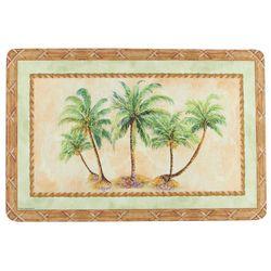 Palm Trees Cushioned Mat