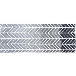 Tropix Straight and Arrows Long Accent Rug