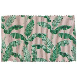 Thro Pria Palm Leaf Nova Accent Rug