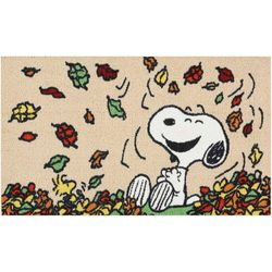 Nourison Snoopy Leaves Accent Rug