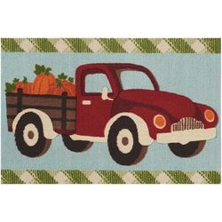 Nourison Fall Truck Accent Rug