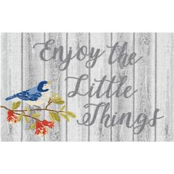 Enhance Enjoy The Little Things Accent Rug