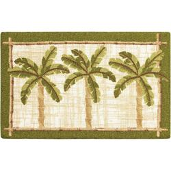 Palm Trees Accent Rug