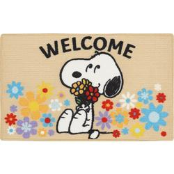 Peanuts Snoopy Welcome Accent Rug
