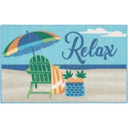 Relax Beach Chair Accent Rug