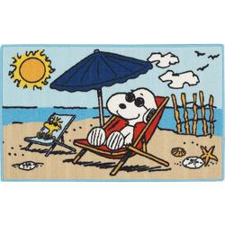 Peanuts Snoopy Beach Accent Rug