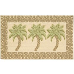 Nourison Palm Tree Beach Accent Rug