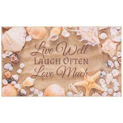 Live Laugh Love Accent Rug