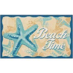 Starfish Beach Time Accent Rug