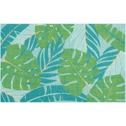 Enhance Palm Leaves Accent Rug