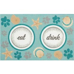 Enhance Eat Drink Accent Rug