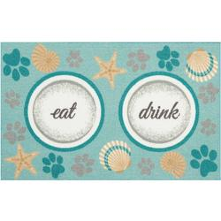 Eat Drink Accent Rug