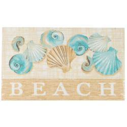 Beach Shells Accent Rug