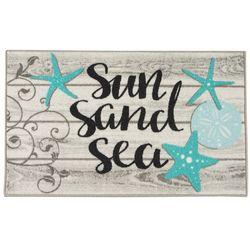 Sun Sand Sea Accent Rug
