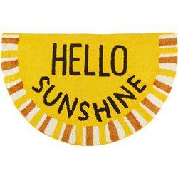 Nourison Hello Sunshine Hand Hooked Slice Accent Rug