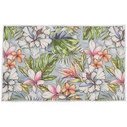 Multi Floral Accent Rug