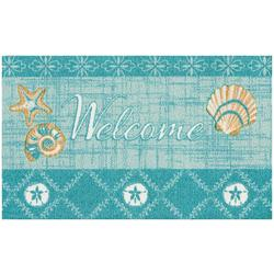 Shells Welcome Accent Rug