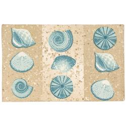 Shells Accent Rug