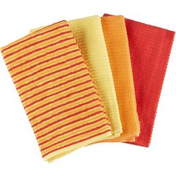 Fiesta 4-pc. Ribbed Kitchen Towel Set