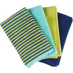 4-pc. Ribbed Kitchen Towel Set