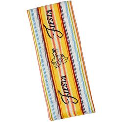 Fiesta Logo Stripe Kitchen Towel