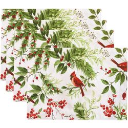 Benson Mills 4-pc. Festive Birds Placemat Set