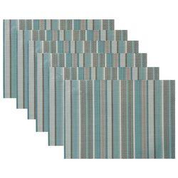 Benson Mills 6-pc. Multi-Stripe Placemat Set