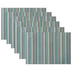 6-pc. Multi-Stripe Placemat Set
