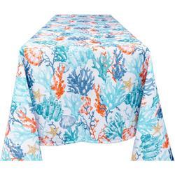 Coral Indoor/Outdoor Tablecloth