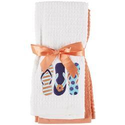 2-pc. Flip Flop Kitchen Towel Set