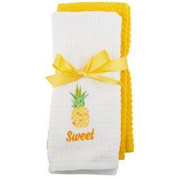 2-pc. Sweet Pineapple Kitchen Towel Set