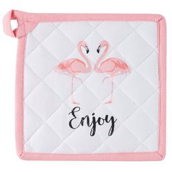 Flamingo Pantry Enjoy Pot Holder