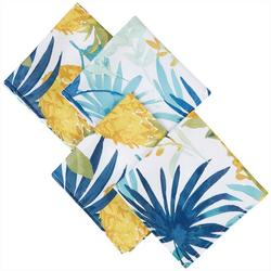 4-pc. Pineapple Palms Napkin Set