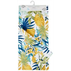 Homewear Pineapple Palms Table Runner