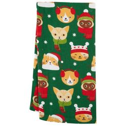 Christmas Cats Kitchen Towel