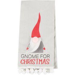 Gnome For Christmas Flour Sack Kitchen Towel