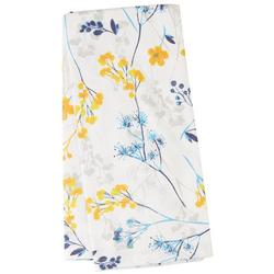Linear Flower Kitchen Towel